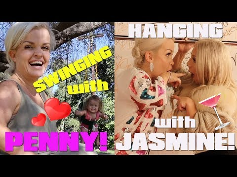 VLOG: Swinging with PENNY & Hanging with JASMINE!