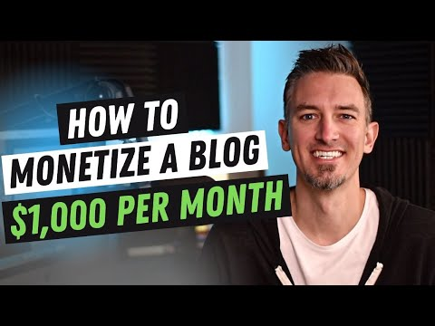 How to Make Money Blogging - Monetize a Blog in 8 Easy Steps thumbnail