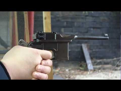 毛瑟C96手槍