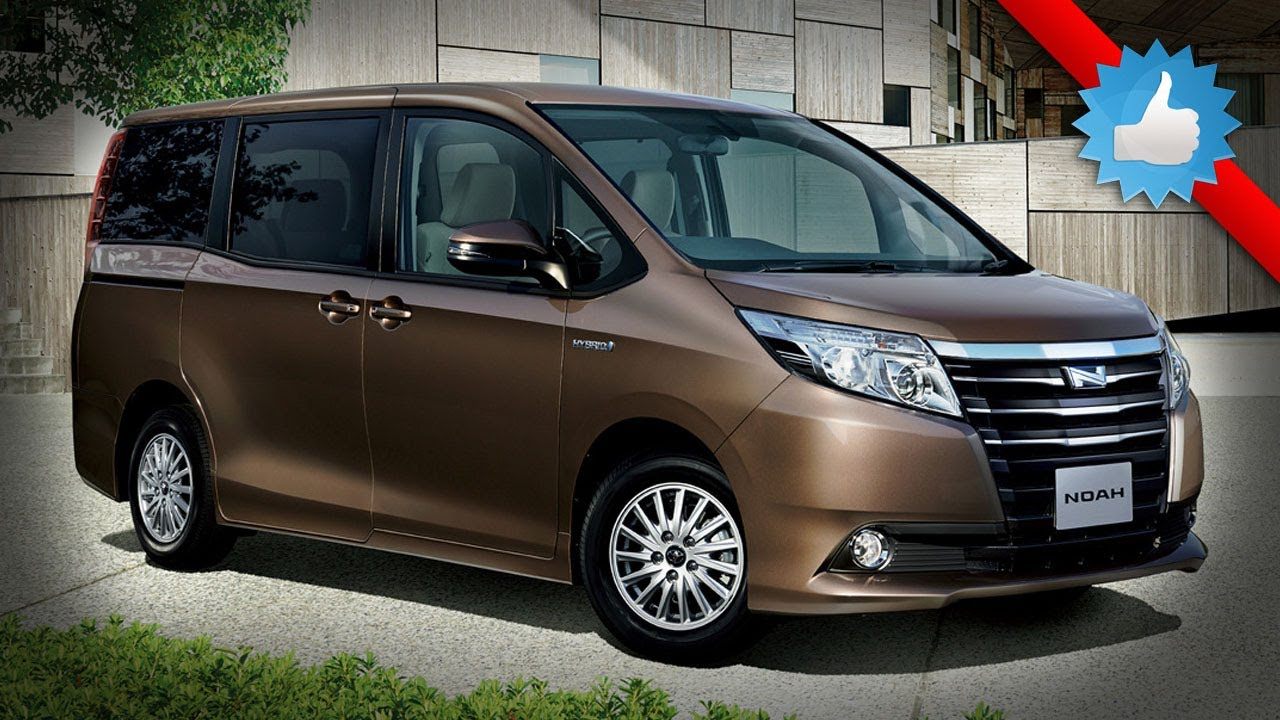 2015 Toyota Noah Hybrid In Japan Youtube