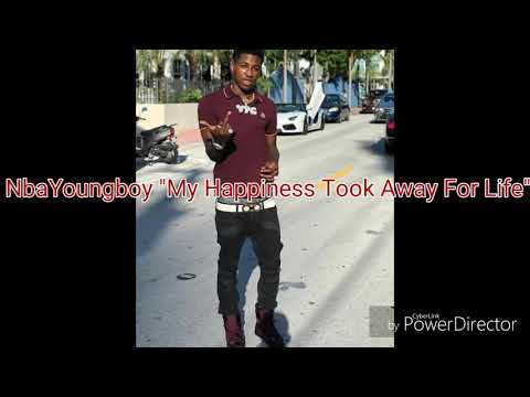 NBA YoungBoy ~ My Happiness Took Away For Life ( With lyrics )