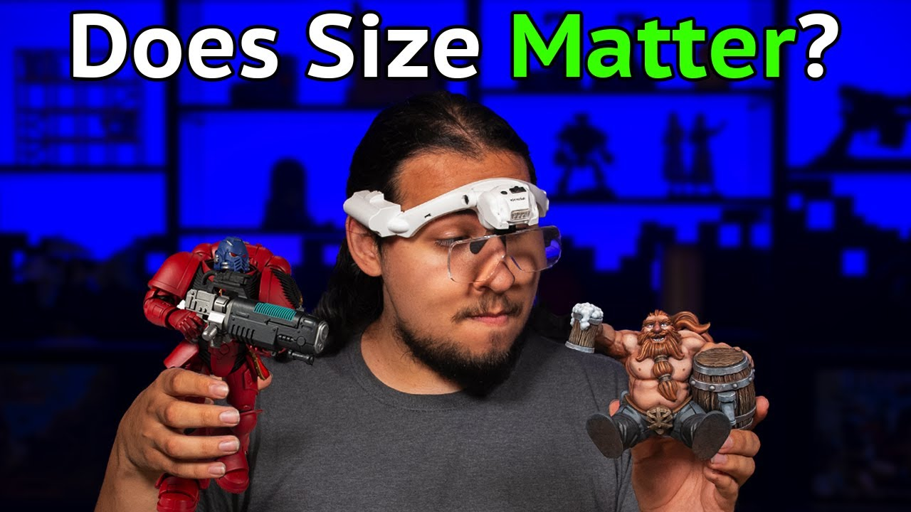 Does Size Matter? Are Bigger Models Better to Paint?