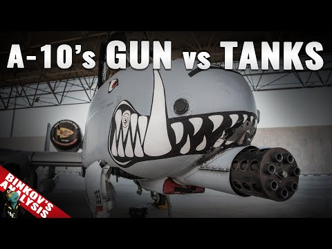 Can the A-10's gatling gun still rule over tanks?