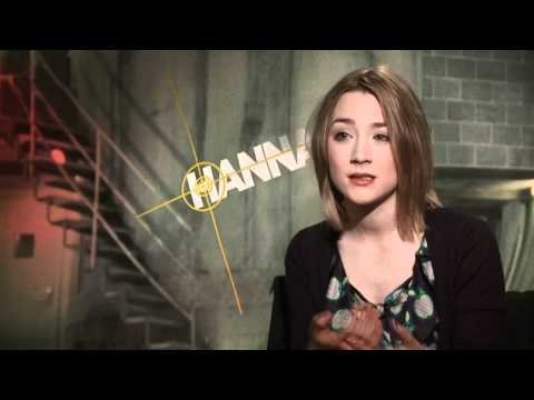 Hanna  with Saoirse Ronan 'Eric Bana Would Not Stop Talking About Aussie Rules Football'