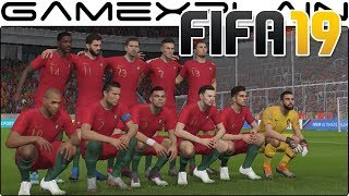 20 Minutes of FIFA 19 for Nintendo Switch Gameplay (Portugal VS US)