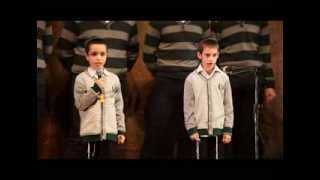 School Children Sing At Chanukkah Concert Nizhny Novgorod, Russia