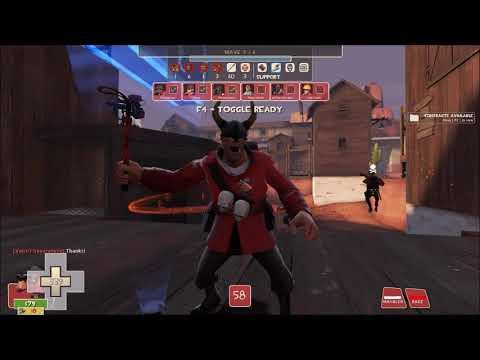 Team Fortress 2: MvM Barren (Crucial Revenge)