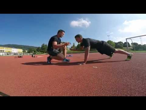 Fitness-Outdoor // Milan Vukas HIIT Exercise HD
