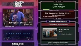 Tetris TGM3: Terror Instinct by kevinDDR - SGDQ2017 - Part 103