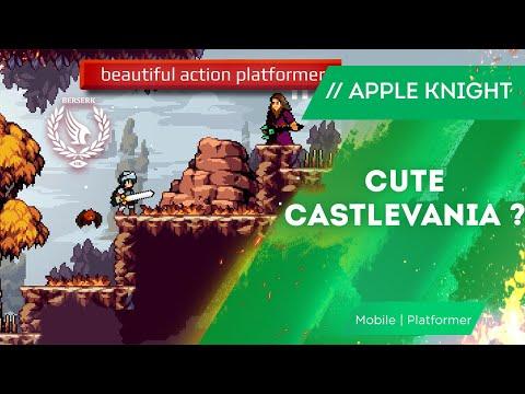 Apple Knight Review | iOS Platformer Gameplay