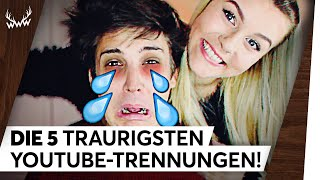 Die 5 traurigsten YouTube-Trennungen! | TOP 5