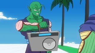 Piccolo vs Kami RAP BATTLE! (DBZ Parody)