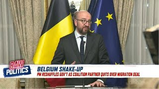 Raw Politics: 'It's like a coup' — Flemish nationalist on why party quit Belgian government
