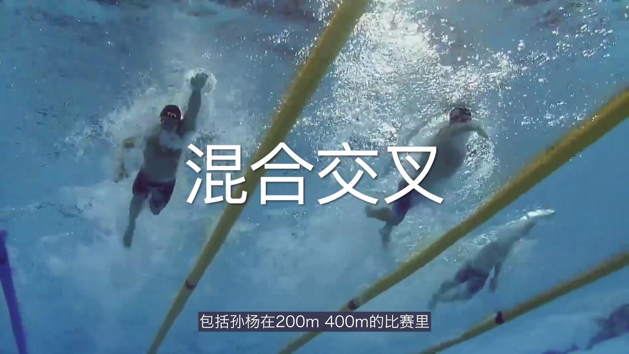 游泳去吧05丨自由泳的四种交叉类型