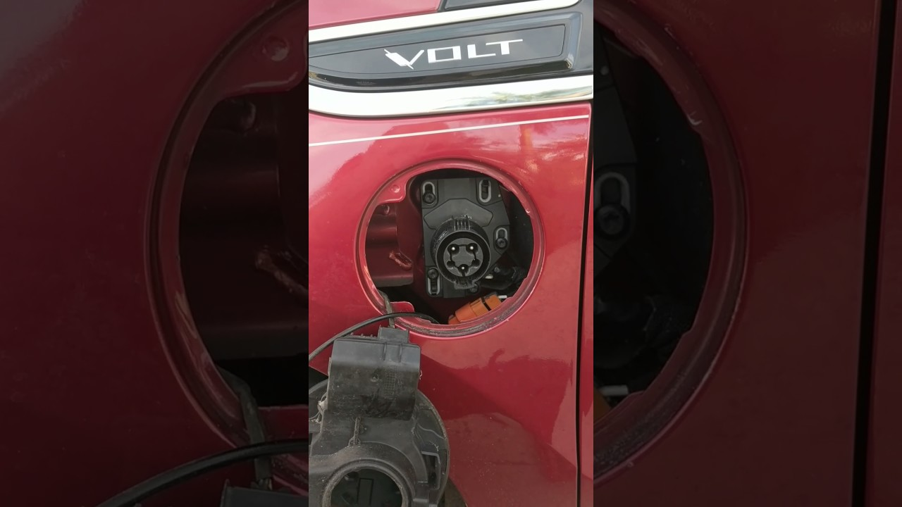 How To Adjust Charge Port Chevy Volt
