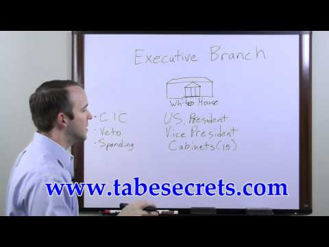 TABE Cheats and Secrets - The Executive Branch