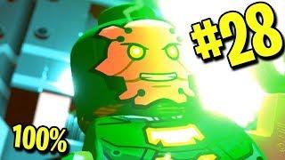 LEGO NA 100% Metropolis CZĘŚĆ 4 LEGO DC Super-Villains - LEGO DC SUPER ZŁOCZYŃCY | BROT