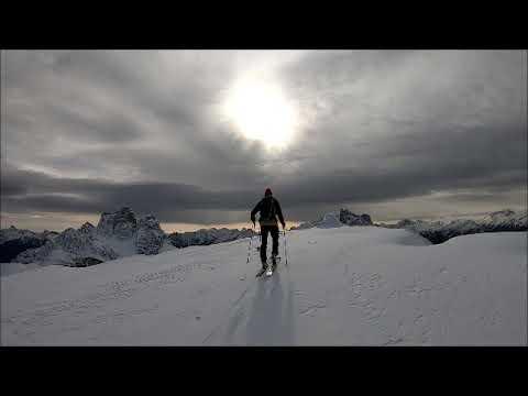 Sci alpinistica ai Lastoi de ForminBella e...