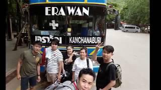 ล่องแพกาญจนบุรี เขื่อนศรี ปี3 EP2#คนกันเองออนทัวร์