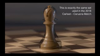 The World Chess Championship Chess Set