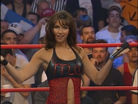 720pHD: WCW Nitro 052900  Kimberly Page confronts Miss Elizabeth