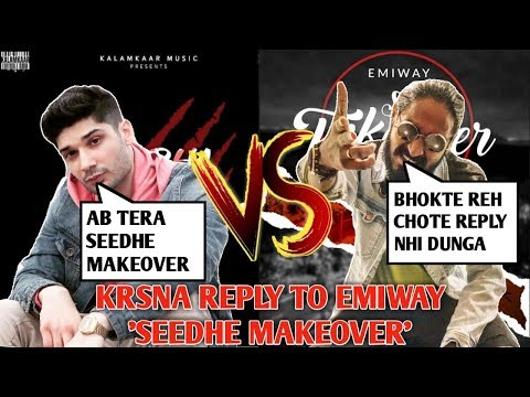 seedha-makeover---krsna-reply-to-emiway,-diss-track-war