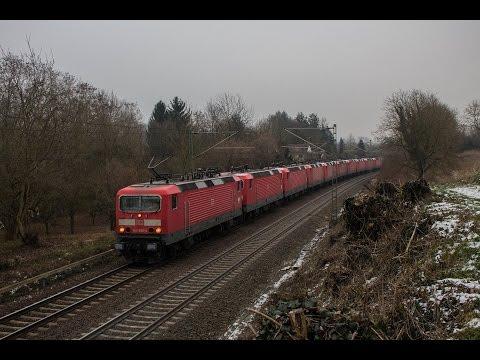Überführung der letzten Stuttgarter 143er zu DB Cargo nach Halle