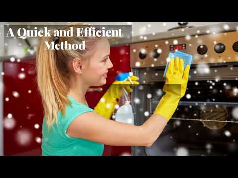 Best method to Clean Oven Windows and Grills?