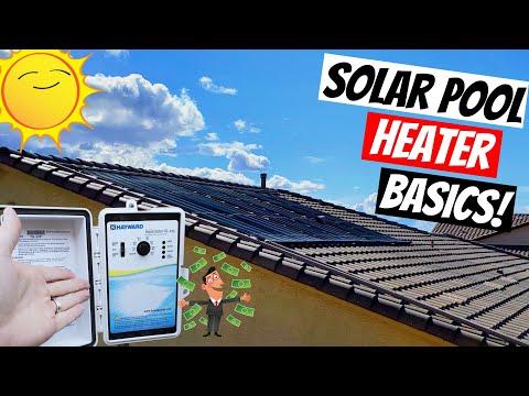 Solar Pool Heaters 2021 - Turning On Solar Pool Heaters