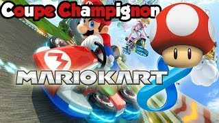 Mario Kart 8 - Coupe champignon [FACE COMMENTARY]
