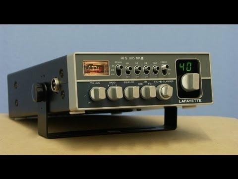 LAFAYETTE AFS-805 MK2 HAM-CB-Radio by Cybernet