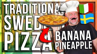 ANOMALY AND PAPA MAKE TRADITIONAL SWEDISH PIZZA (GONE WRONG)
