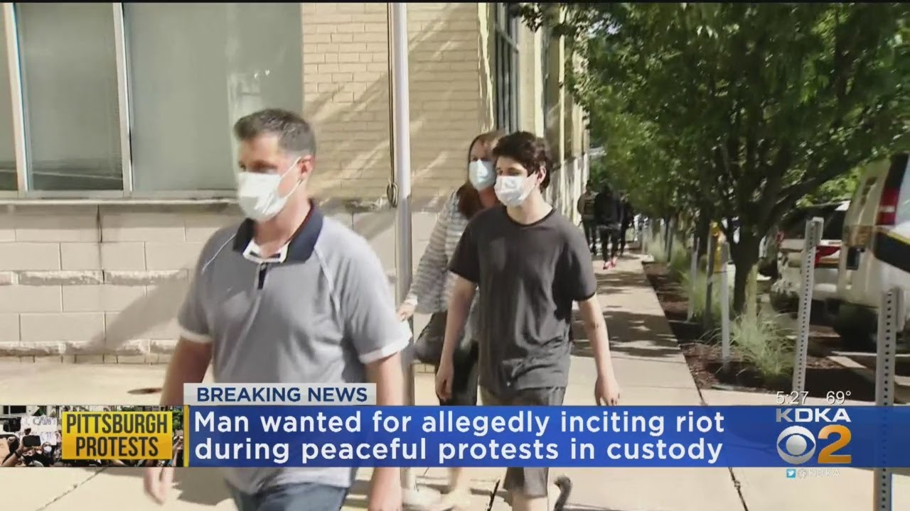 20-Year-Old Wanted For Allegedly Inciting Violence During Pittsburgh Protests Saturday Turns Himself