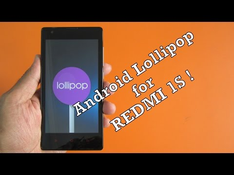[STABLE] RedMi 1s - Android Lollipop 5.1.1 (Latest build) ! everything working !
