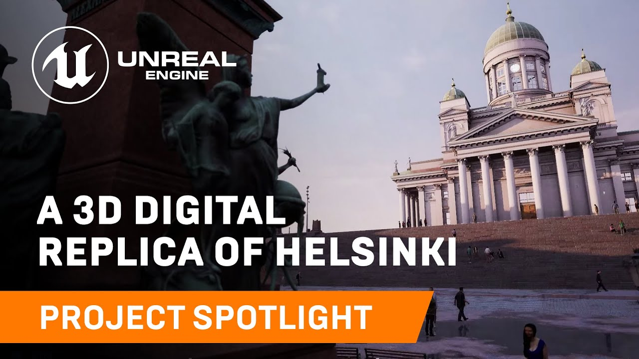 Helsinki goes Virtual dankzij Zoan en Unreal Engine