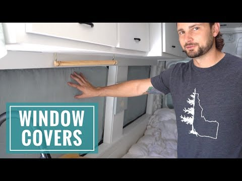 VAN LIFE: Custom Reflectix Window Coverings for Insulation & Privacy