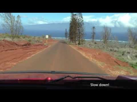 A Tour of Lanai by Hummer