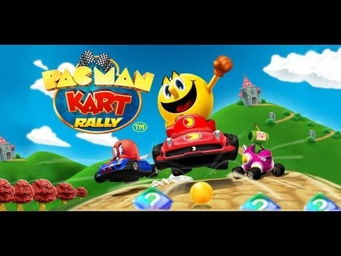Android PAC-MAN Kart Rally By Namco
