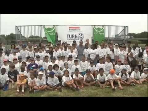 Derek Jeter Turn 2 Foundation Baseball Clinic