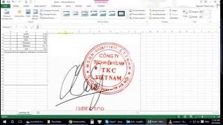Chèn hình ảnh sau chữ trong excel - How to show pictures behind the text in excel
