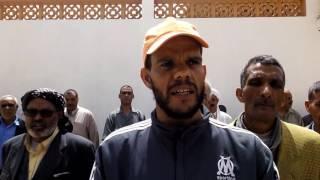 ضحايا زيوت الاسكاريل بالاغواط يجددون إعتصامهم امام مقر الولاية