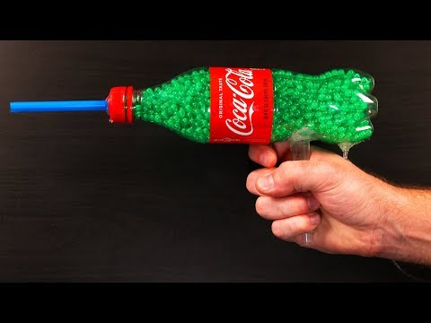 DIY Homemade Bottle Launcher