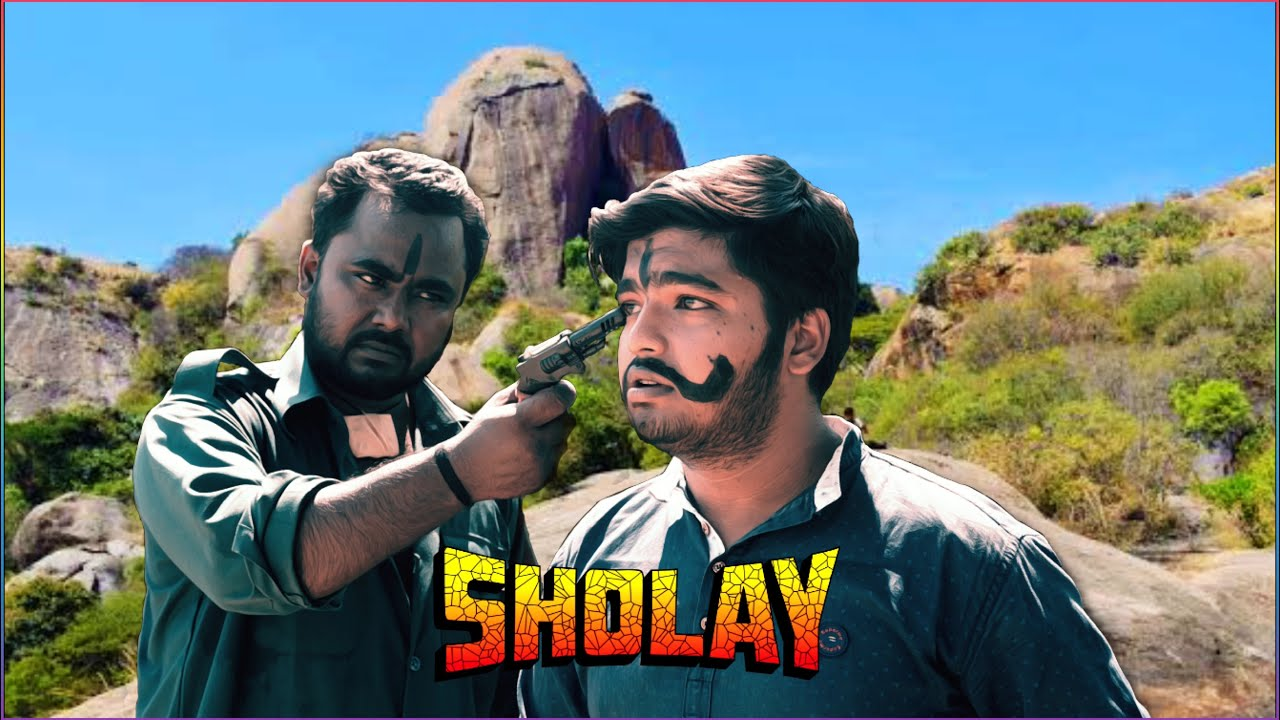 """Download """"KITNE AADMI THE""""  - sholay superhit dialogue scene 😍 