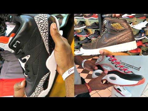FootLocker Selling Fake Jordan 4's! Shoes From Store Restock CLUTCH! Sneaker Head Shoe Vlog Ep.31