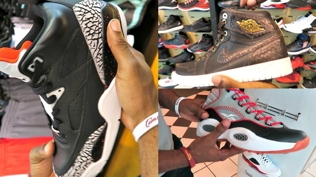 7f29791296fc FootLocker Selling Fake Jordan 4 s! Shoes From Store Restock CLUTCH! Sneaker  Head Shoe Vlog Ep.31 - YouTube