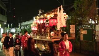 平成28年・金山彦神社・だんじり「青谷北」(大阪府柏原市)
