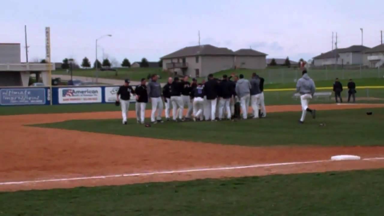 Iowa Wesleyan Baseball Clinches Mcc Tournament Title Youtube
