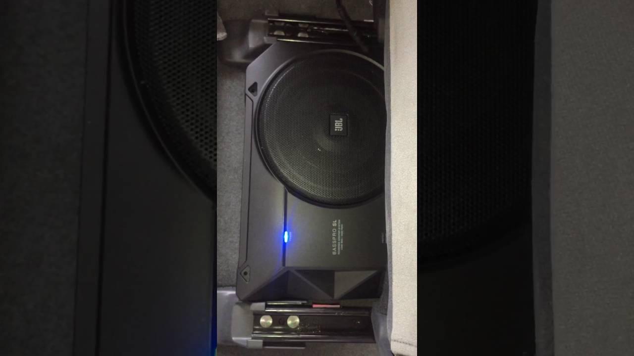 JBL BASS PRO SL - Underseat Subwoofer installed in ...