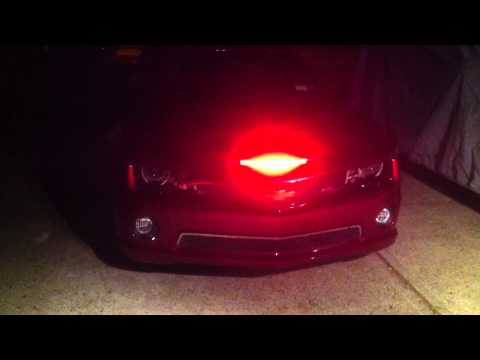 "AAC V2 22"" LED Scanner Knight Rider  2011 Camaro Convertible"