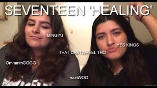 Video SEVENTEEN(세븐틴) 'HEALING'(힐링) MV REACTION download MP3, 3GP, MP4, WEBM, AVI, FLV Juni 2018
